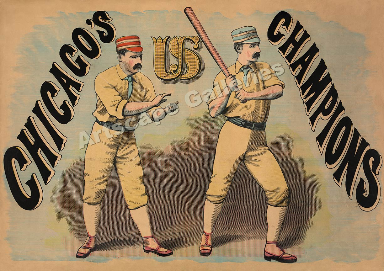 Baseball Posters - Chicagochampions