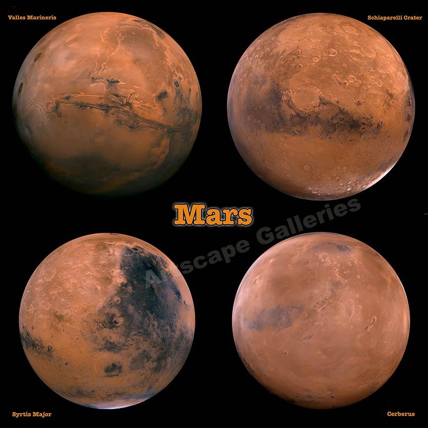 Mars 4 Views of the He...