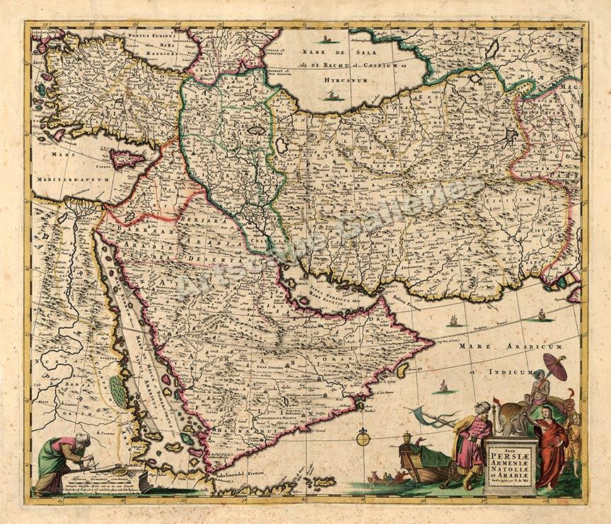 Persia-and-Arabia-1666-Historic-Exploration-Map-20x24