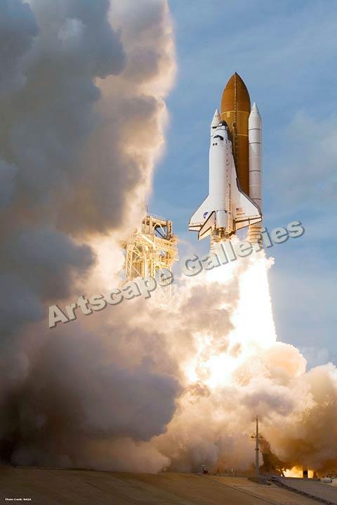 space shuttle atlantis poster - photo #11