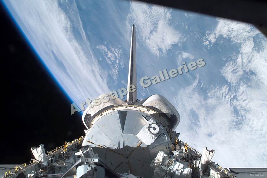 space shuttle endeavour orbiting - photo #2