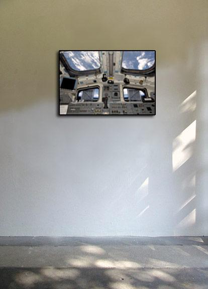 NASA Space Shuttle Atlantis Cockpit - Poster 24x36 | eBay