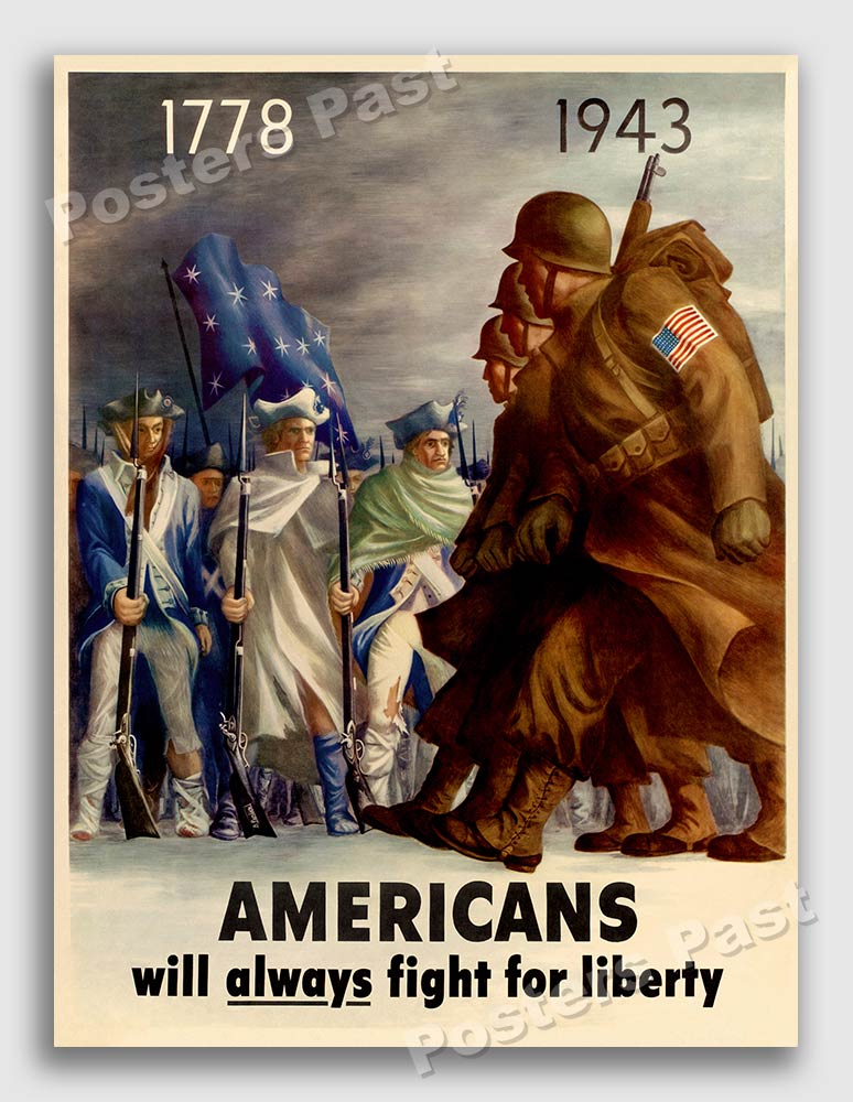 Mexican American World War 2 Poster Americans All 24x32 Fight For Victory