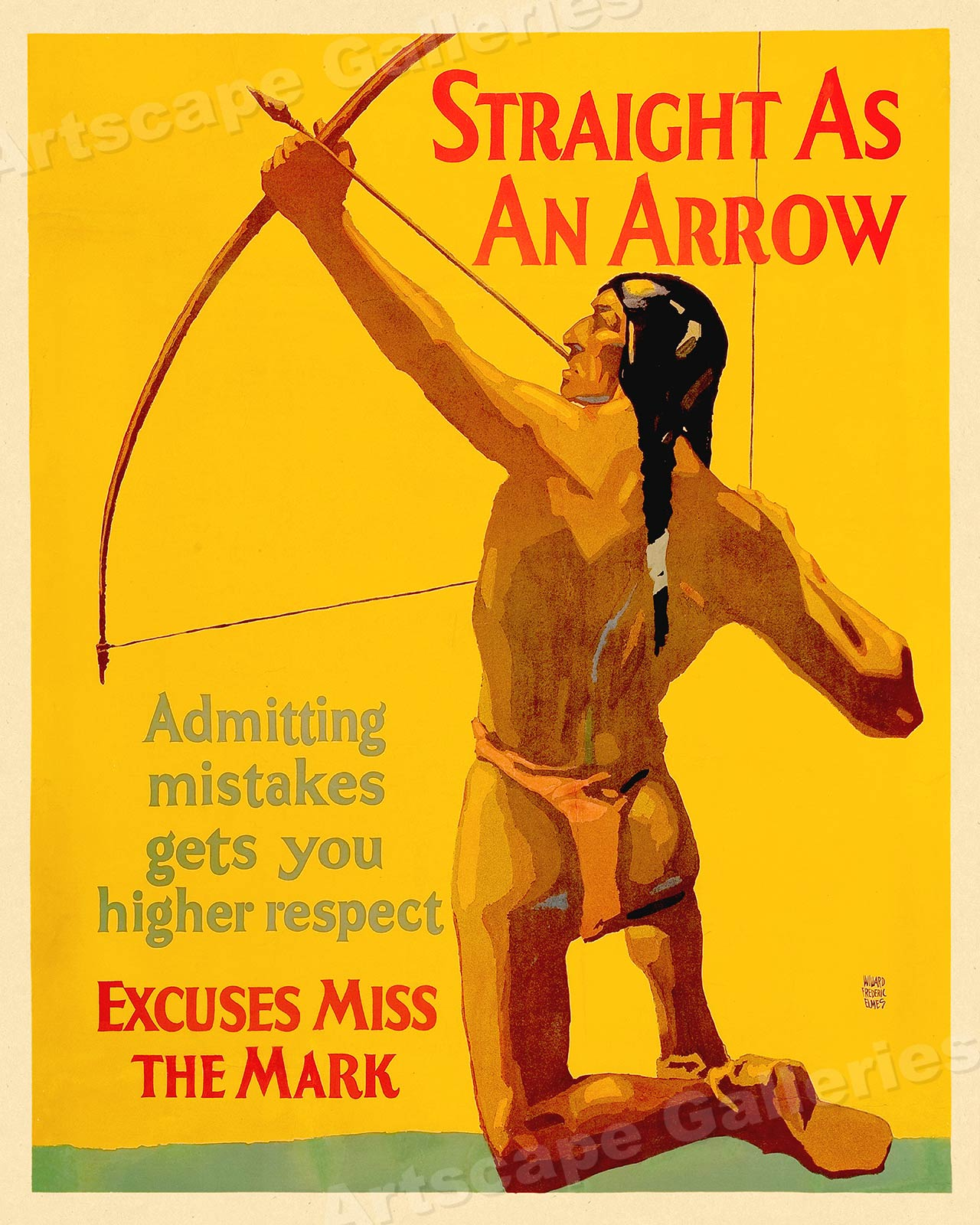 Railway Express Agency 1929 Vintage Style Advertising Poster 16x24