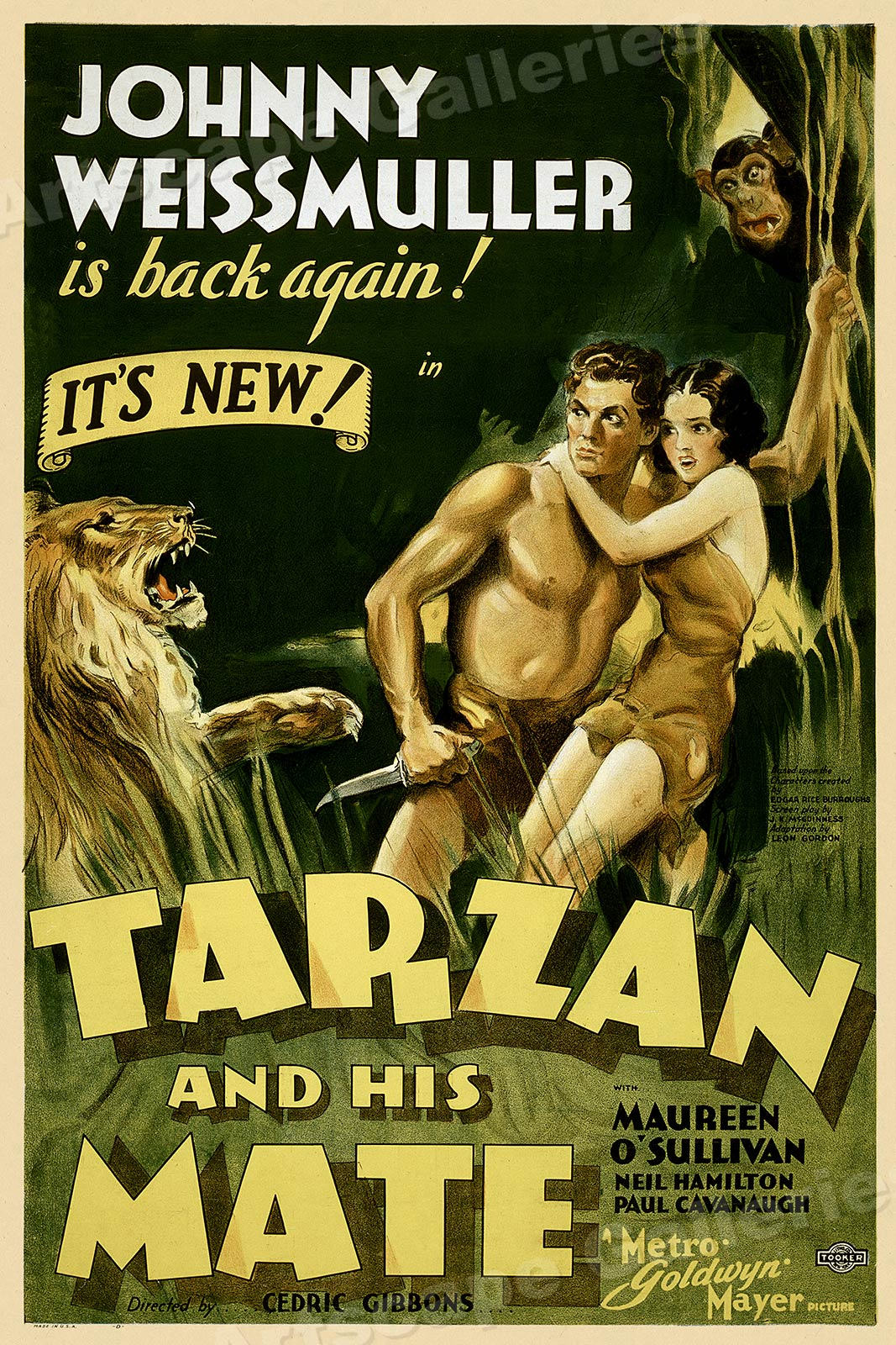 20x30 1934 Discover Australia Celebrations Vintage Style Travel Poster