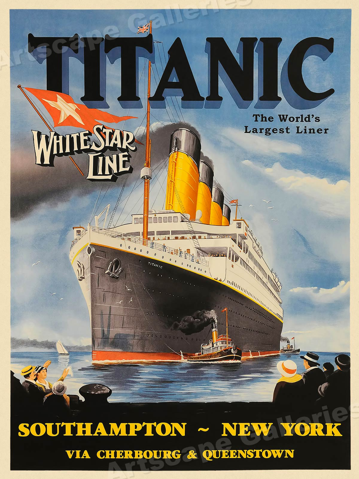 1912 Titanic World's L...