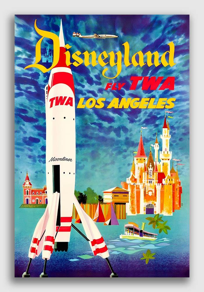 England Big Ben Parliament Vintage 1953 Travel Poster 20x30