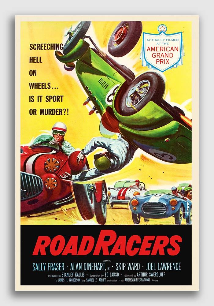 18x24 1937 Italian Grand Prix Road Race Vintage Style Auto Racing Poster